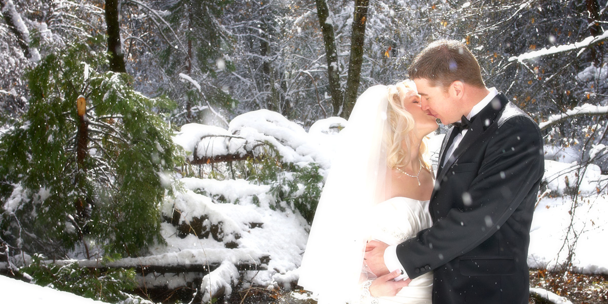 wedding portfolio - winter wedding in Yosemite Valley